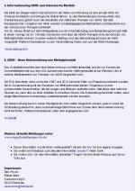 Dritte Beispielseite des Newsletters