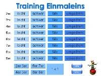 training-einmaleins
